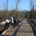River Loop Trail features numerous boardwalks.
