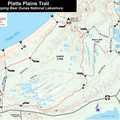 Platte Plains Trail Map.