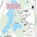 Silver Lake Recreation Area trail map.