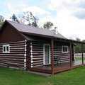 Rental cabin at Camp Pet-O-Se-Ga.