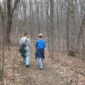 Hikers on the Wilderness Trail.