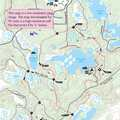 Crooked Lake Trail map