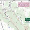 Avalanche Preserve Recreation Area map.