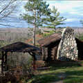 Honeymoon Cabin in the fall.