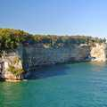 The Pictured Rocks leads to Grand Portal.