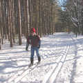 Aspen Park features groomed classic ski trails.