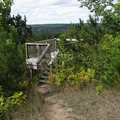 The viewing deck at the end of the Skyline Trail.