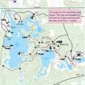 Dickinson/Nature Loop Trail Map.