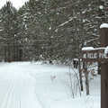 Winter at Pine Baron Pathway.