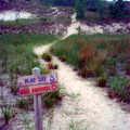 Trail sign along Mt. Randal Loop