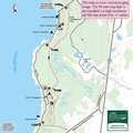 Fisherman's Island trail map.