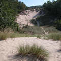 Open dune country at Hoffmaster State Park.