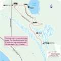 Pyatt Lake Nature Preserve Trail Map.
