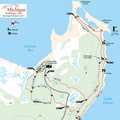 Cheboygan State Park trail map.