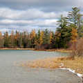 Pickerel Lake in Pigeon River Country.
