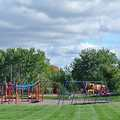 Playscape at Silver Lake Recreation Area.
