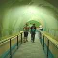 The underwater tunnel at Indian Springs.