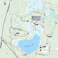 Wakeley Lake Trail map.