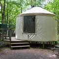 The Lost Creek Yurt less than a mile from the trailhead.