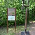 The trailhead shovel at Union Mine Trail.