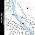 Ledges Trail Map.