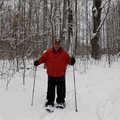 Snowshoeing at Birchwood Farms.