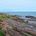 Lake Superior shoreline near White Birch Cabin.
