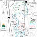 Forbush Corner West Trail System map.