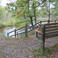 Boardman River along the Muncie Lakes Pathway.