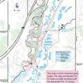 Upper Macatawa Natural Area trail map.