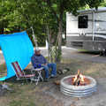 Campers at Petoskey State Park.