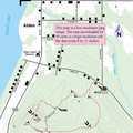Coy Mountain Trail Map.