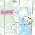 Trail map for Bald Eagle-Blue Heron Loop