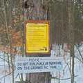 Locals are protective of Cadillac Pathway's groomed tracks.
