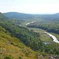 The Upper Carp River from the Escarpment Trail.