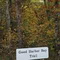 Good Harbor Bay Trail trailhead.