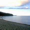 The beach at Cathead Bay.