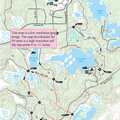 Silver Lake Trail map.