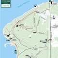 Headlands Trail Map.