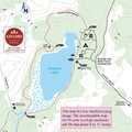 Pickerel Lake Pathway map.