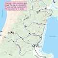 Leelanau State Park: Cathead Bay Trail Map
