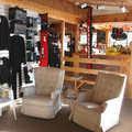 Inside the Forbush Corner Ski Shop.