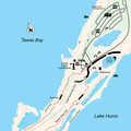 Sandy Hook Trail map.