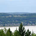 The view of Lake Charlevoix from The Hill.