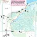 Ferguson Bayou Trail map.