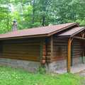 The 8-bunk Whitetail Cabin on Deer Yard Trail.