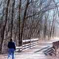 Paint Creek Trail, Michigan's first rail-trail.