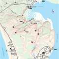 Dune Ridge Trail map.