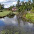 Cedar Creek near its Pickerel Lake outlet.