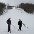 Nordic skiers at Avalanche Preserve.